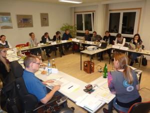 Sitzung des Quartiersbeirats am 28.10.2015, Quelle: Quartiersmanagement Nördliche Johannstadt