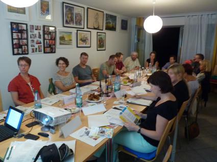 4. Sitzung des Quartiersbeirats am 9.7.2016 im Bundschuhtreff Johanna (Quelle: Christina Eppers)