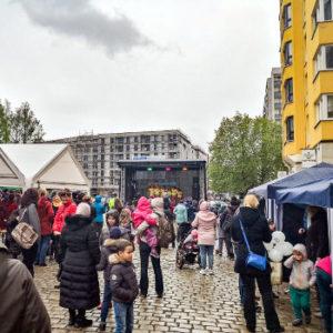 Impression vom Bönischplatzfest 2019. Foto: Marcus Lieder