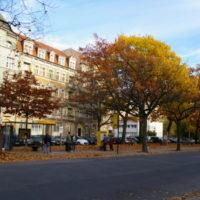 Blick auf den Bönischplatz. Foto: Christina Eppers