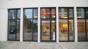 Blick auf die neue Filiale in der Johannstadt. Foto: Philine Schlick