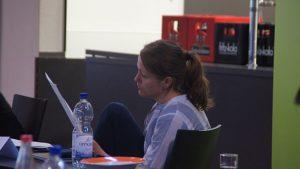 Anne Gruner war bei der 7. Beiratssitzung für das Jugendhaus Eule anwesend. Foto: Philine Schlick