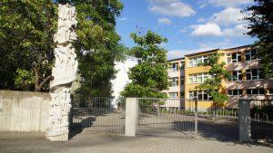 An den Standort der 101. Oberschule soll das Gymnasium Johannstadt ziehen. Foto: Philine Schlick