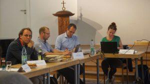 Gastgeber der achten Stadtteilbeiratssitzung war die Kirchgemeinde Johannes-Kreuz-Lukas. Sie stellte das Gemeindezentrum an der Fiedlerstraße zur Verfügung. Foto: Philine Schlick