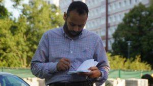 Dr. Saad Elgazar war Gastgeber des ersten Coexist-Treffens 2020. Foto: Philine Schlick