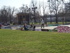 Der Skate-Park an der Lingnerallee. Foto: Stadtplanungsamt