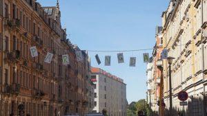 Parking Day 2020 in der Hertelstraße. Foto: Philine Schlick