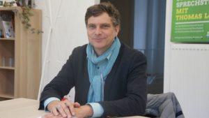 Zu Gast bei Thomas Löser in seinem ersten Wahlkreisbüro. Foto: Philine Schlick