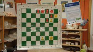 Eine Schach-Aufgabe zum Tüfteln. Foto: Philine Schlick