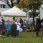 Halloween-Konzert 2020 im Bönischgarten. Foto: Philine Schlick
