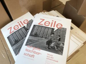 Das Cover der aktuellen Zeile im Dezember 2020. Foto: Anja Hilgert