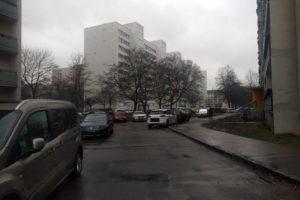 Blick vom kurzen Ende der Florian-Geyer-Straße in Richtung Pfeifferhannsstraße. Foto: Philine Schlick